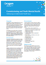 Commissioning and youth mental health